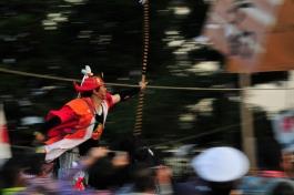 室生神社の流鏑馬(県指定無形民俗文化財)