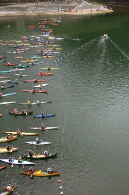 第17回 カヌーマラソンIN丹沢湖