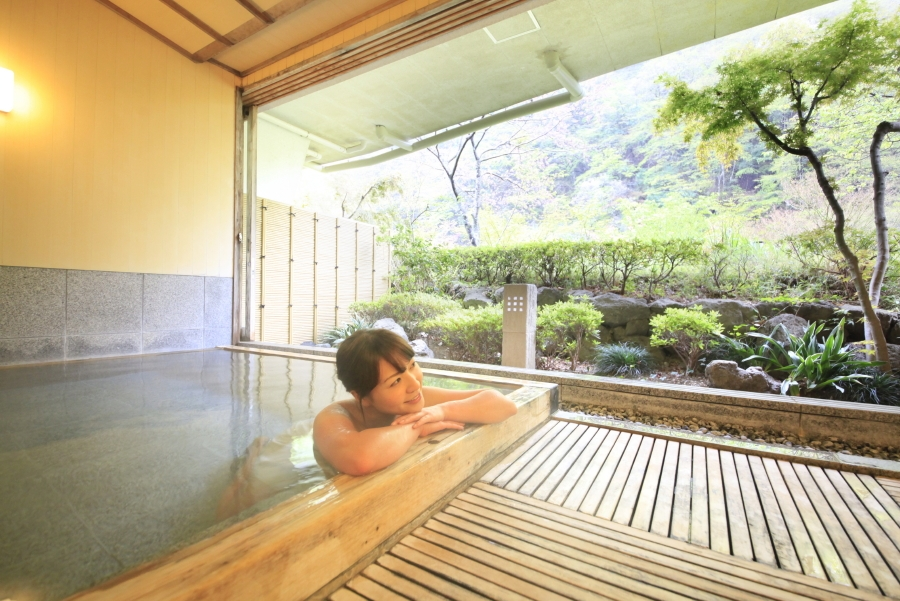 貸切風呂 山色の湯