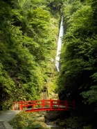 洒水の滝周辺落石調査に伴う通行禁止について