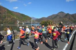 丹沢湖マラソン大会