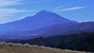 大野山山頂より