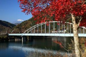 大仏大橋の秋