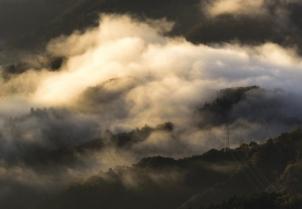 大野山から見る雲海