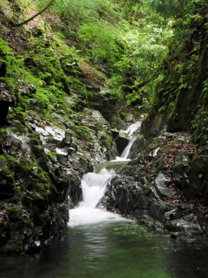 源流の連瀑