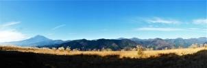 大野山山頂より望むパノラマ